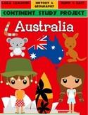 Australia: Continent Project