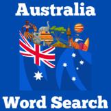 Australia Worksheet Activity