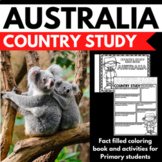 Australia Country Study Mini Book Unit