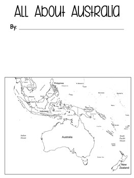 Australia Country/Continent Study