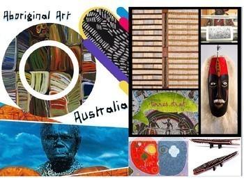 Aboriginal Australia Art History - Aborigini Art - 218 Slides