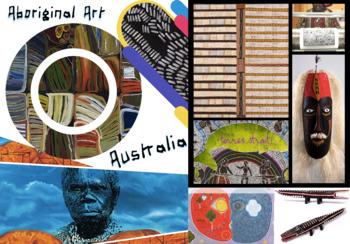 Australia - Aboriginal & Torres Strait - Art - FREE POSTER