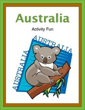 Australia Activity Fun