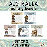 Australia Activity Bundle