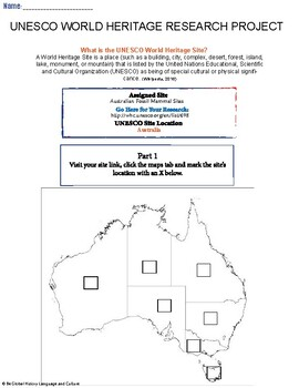 (Australia Geography) Australia: Australian Fossil Mammal Sites—Research Guide