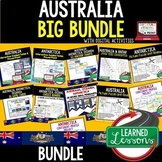 Australia BUNDLE (World Geography Bundle), Digital Distance Learning & Print