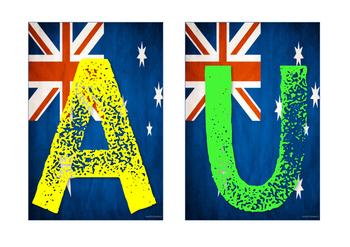 Australia Banner Olympics