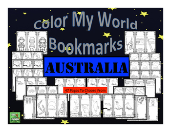 Australia Bookmarks