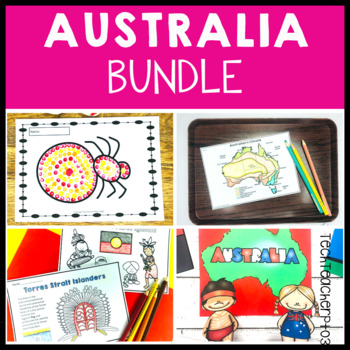 Australia Bundle - everything you need to explore Australia in the classroom.