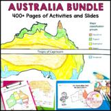 Australia Bundle Maps Geography Symbols Distance Learning