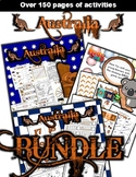 Australia Classroom Center Activity Bundle