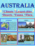 Australia Geography Culture Fauna Flora distance learning