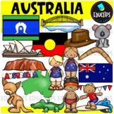 Australia Clip Art Bundle {Educlips Clipart}