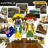 Australia Clipart-Top 15 Tourist Places