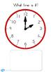 Australia - Clock Matching Game O Clock