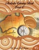 Australia Coloring Book-Level C