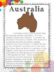 Australia Continent Research Packet