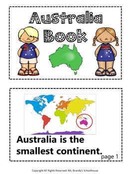 Australia Continent Unit