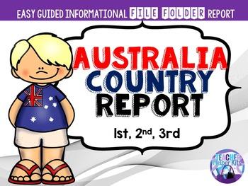 Australia Country Report