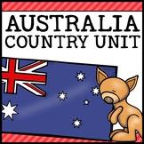 Australia Country Social Studies Complete Unit