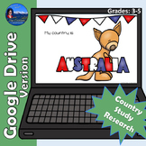 Australia Country Study | Google Drive Version | Distance Learning