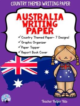 Australia Country Study- Writing Paper