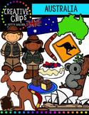 Australia {Creative Clips Digital Clipart}