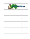 Australia Cut & Paste Bingo