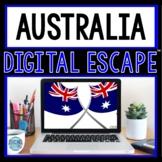Australia DIGITAL ESCAPE ROOM for Google Drive® Distance Learning