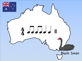 Australia Day - A Bundle of 2 Games for Practicing Rhythm