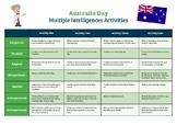 Australia Day - Activity Matrix