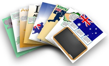 Australia Day Activity Pack with editable pages #endoftermparty