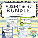 Australia Day Themed Bundle - Year 3 - 6