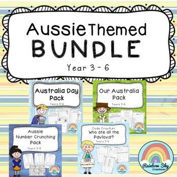Australia Day Themed Bundle - Year 3 - 6