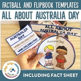 Australia Day Factball, Flipbook and Fact Sheet Activities