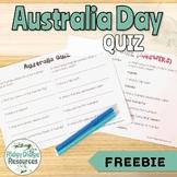 Australia Day Quiz