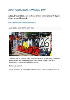 Australia Day/ Invasion Day