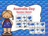 Australia Day Number Match