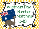Australia Day Number Matching Cards