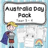 Australia Day Pack - Year 3 - 4
