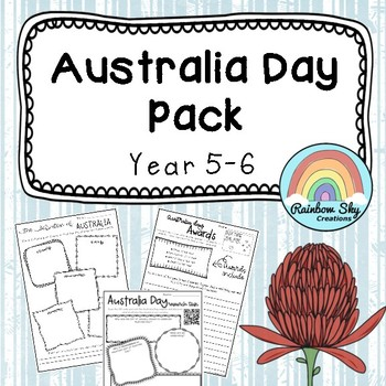 Australia Day Pack - Year 5 - 6