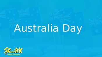 Australia Day - Presentation