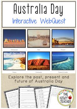 Australia Day WebQuest - Discover the past, present and fu