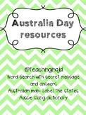 Australia Day Worksheet Pack