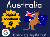 Australia - Digital Breakout! (Escape Room, Scavenger Hunt, Brain Break)