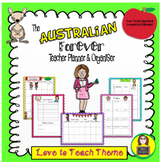 The Australian Forever Teacher Planner Love to Teach Theme