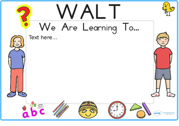 Australia - Editable WILF WALT Display Signs