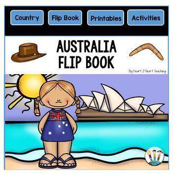 Australia Country Study: A Mini Unit With Australia Flip Book