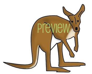 Australia Food Web Clip Art Set - 20 images plus arrows for ECOLOGY lessons