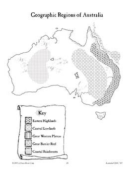 Australia: Geographic Regions